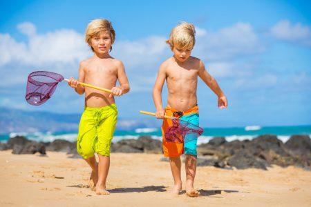 Kids -at-Beach